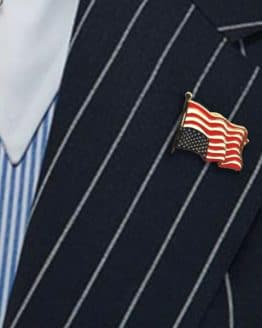 Dress for Distress Flag Pin