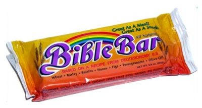 Bible Bar Energy Snack - the divine readymade